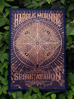 Habble Morning Map -- Double Signed