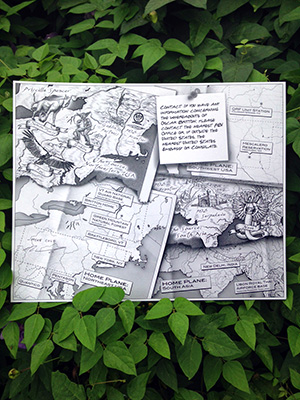 Map of the Source -- Double Signed